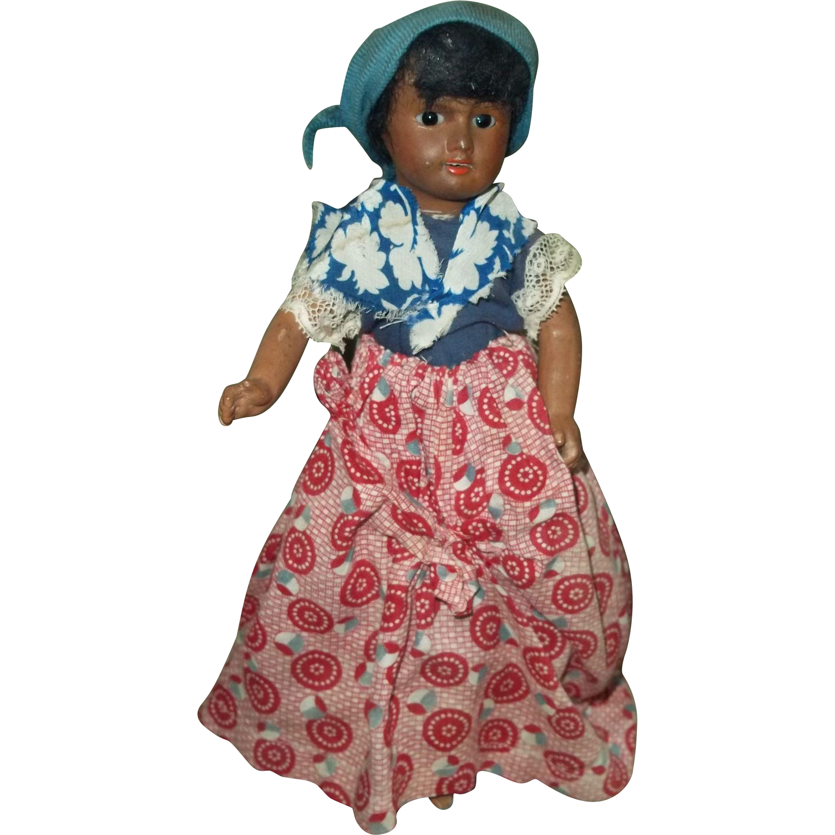 c.1920 Unis France #60 Factory Original Island Girl