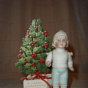 Dear Hertwig All Bisque Boy Doll in Winter Garb