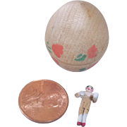 Tiniest Peg Wooden in Wooden Egg