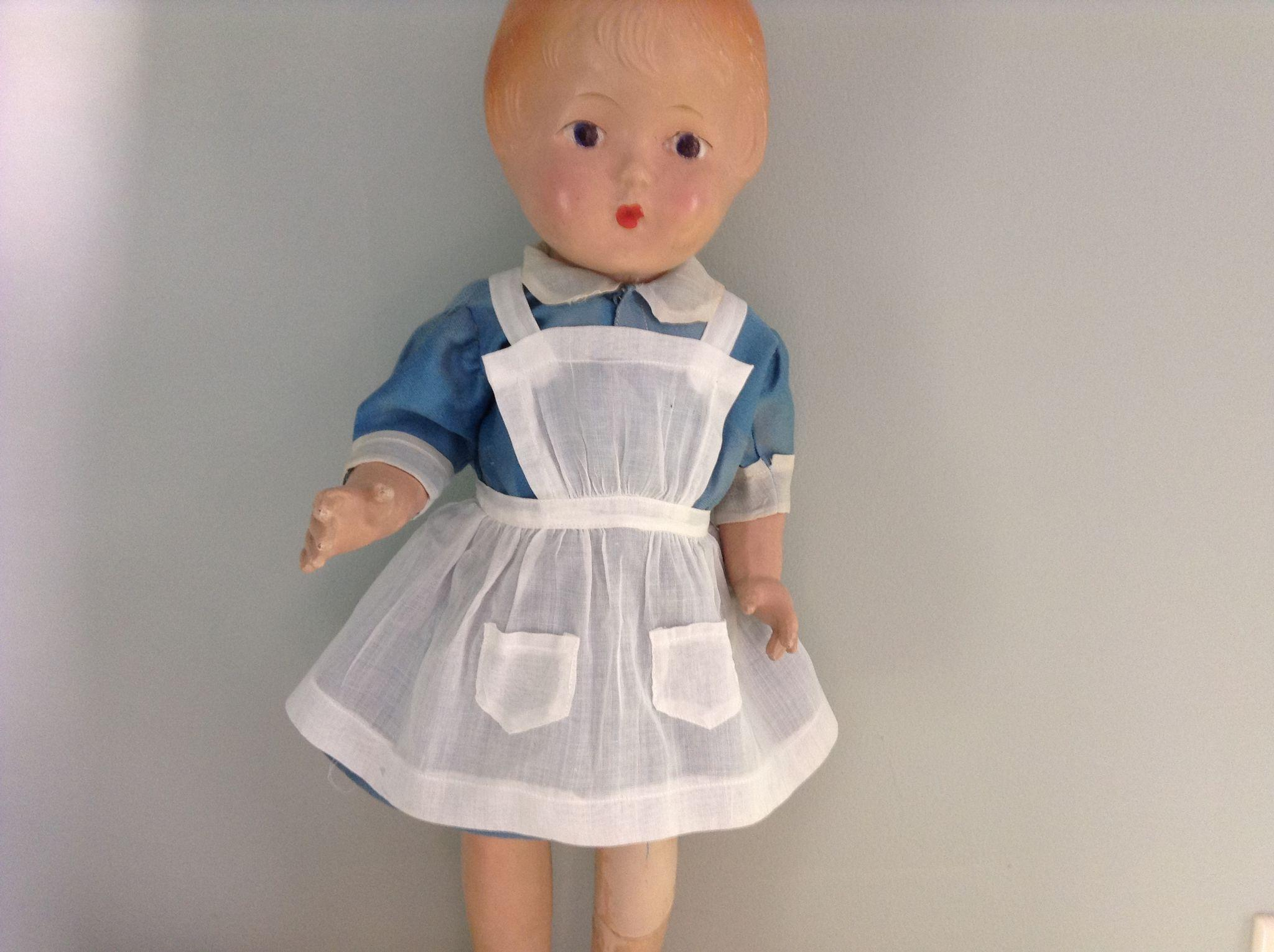 Sweet Vintage Nurse Type Dress and Apron
