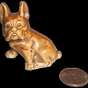 Porcelain French Bull Dog Figurine-Great Mignonette Size