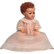 Vintage Dy-Dee Baby Organdy Baby Gown