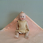 Early 20c. Five Inch All Bisque Baby P-11, Made in Germany