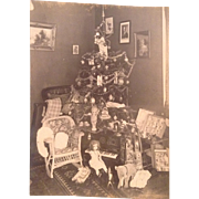 Most Charming 1921 Christmas Photo of a Child's First Christmas