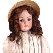 Lovely Kestner 214 Doll, Original body and Plaster Pate