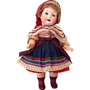 Cutest Heubach #267 Character Toddler in Orig. Regional Clothes