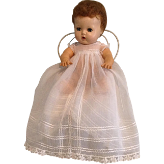 Crisp Organdy Baby Doll Gown for DyDee and Tiny Tears