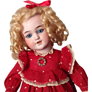 "Lovely 20"" Simon & Halbig 1249 SANTA Doll"