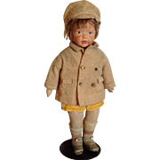 "C. 1920 Kamkins 18"" Cloth Doll-All Original"