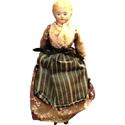 "5-1/2"" Blond Chinahead Doll House Mother/Housekeeper"