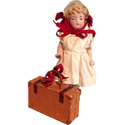 Wee Candy Container Suitcase for All Bisque Doll