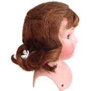 C.1900 Human Hair Wig-Size 9""
