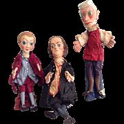 3 WPA Historical Puppets-Philadelphia Unit