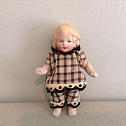 """3-1/2"""" German All Bisque Doll"""