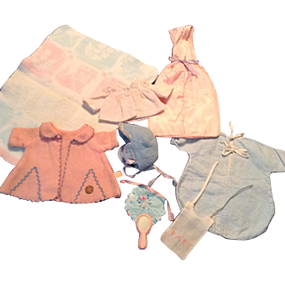Small DyDee or Tiny Tears Baby Layette Assortment