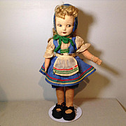 Vintage Norah Wellings Little Girl Doll