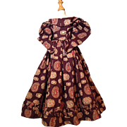 Stunning 2 Piece Dress for Chinahead or French Fashion Doll