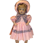 3 Piece Effanbee Factory Set-Large Mama Doll Size