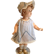 2 Piece Batiste Dress and Bonnet-Commercially Made
