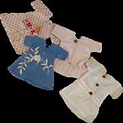 """Four Piece 10-11"""" Doll Wardrobe-Primitive"""