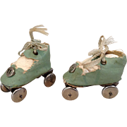 1930s/40s Small Doll Roller Skates
