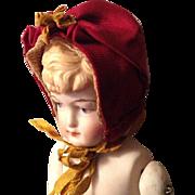 Late 19c. Silk Bonnet for Mignonette
