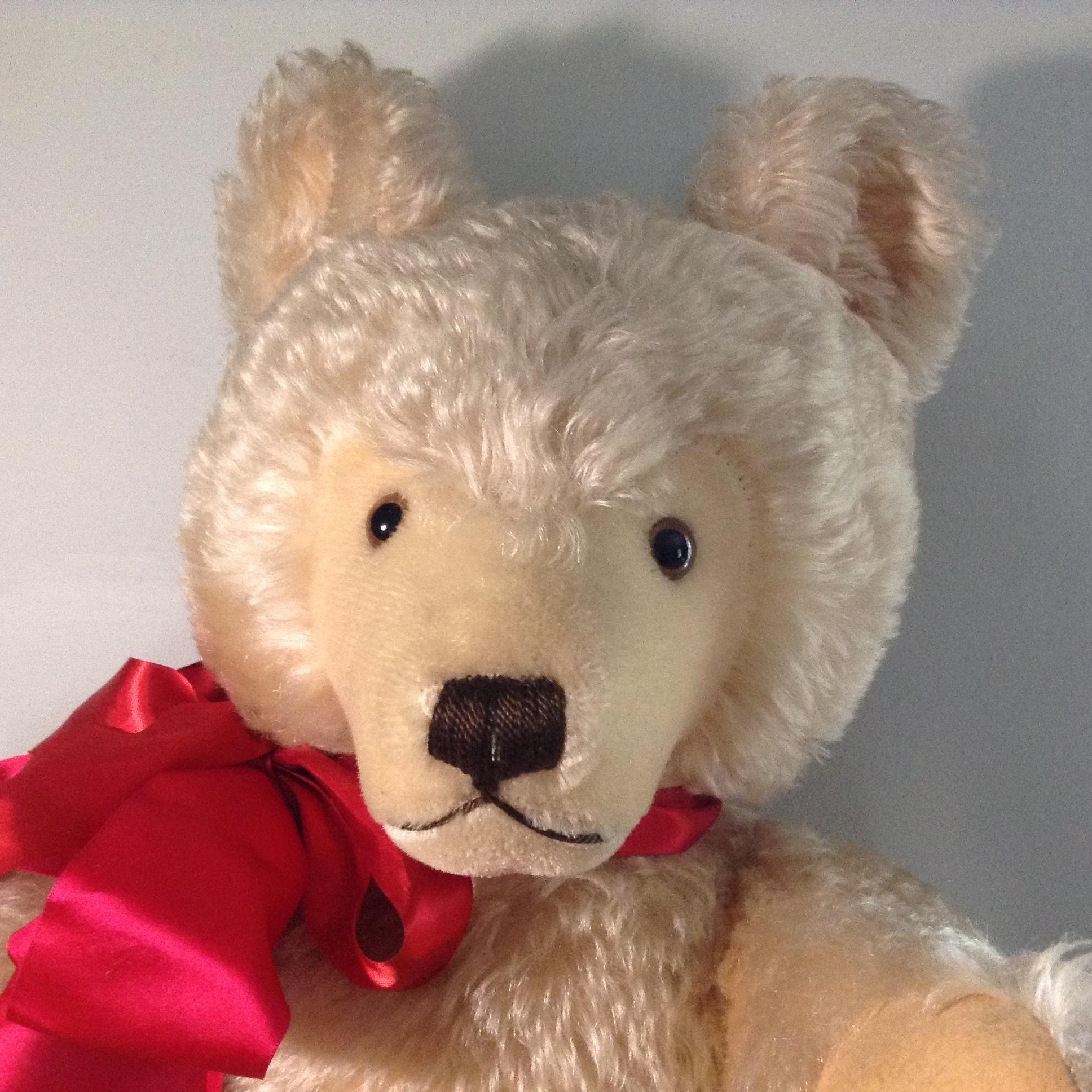 C. 1970 Large Steiff Teddy-Curly Mohair