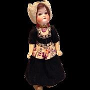 "14"" AO Heubach 250 Regionally Dressed Doll"