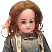 """Early 20c. Human Hair Doll Wig Size 11"""""""