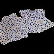 Great Effanbee Tagged 2 Piece Dress Set