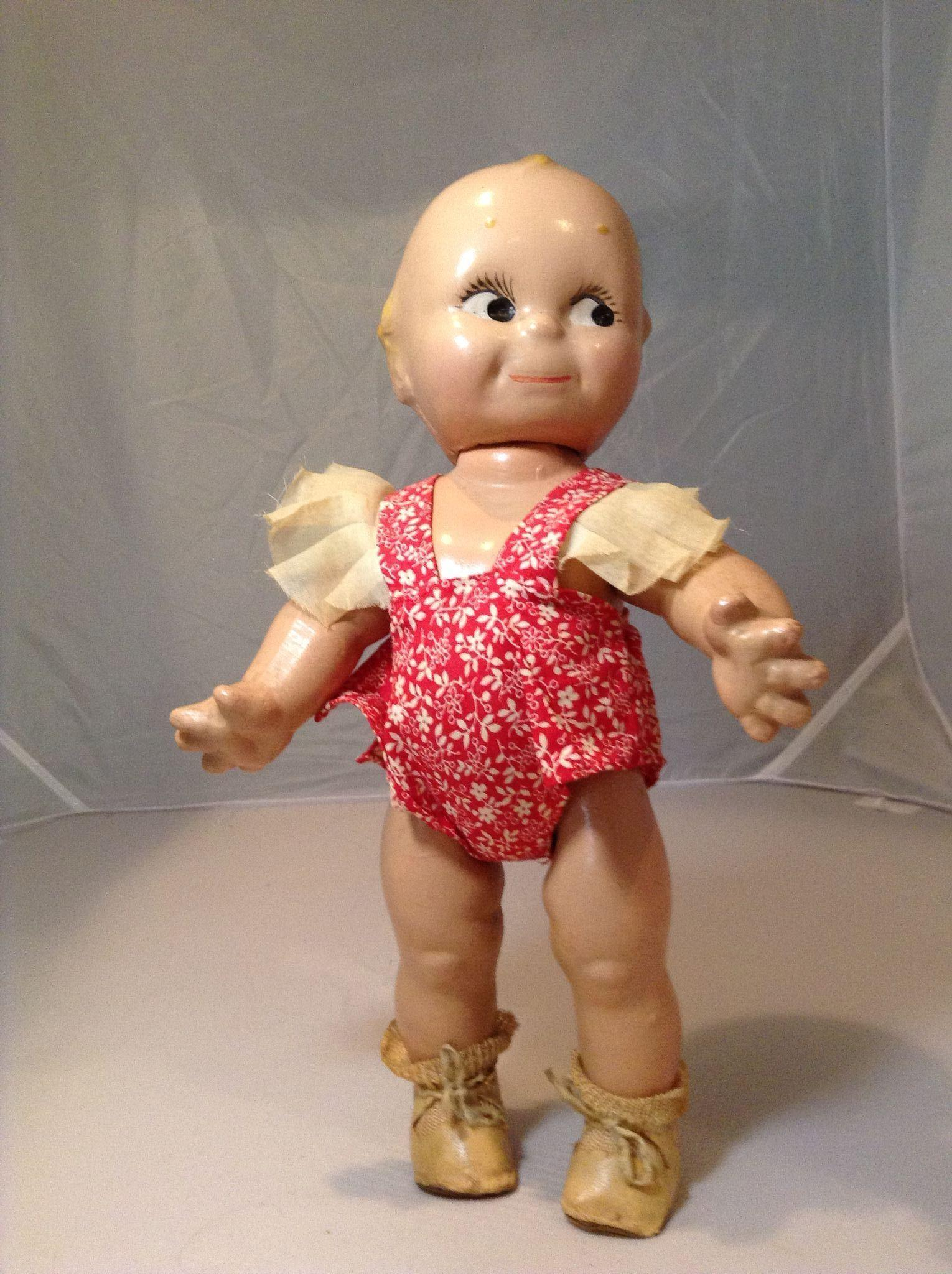 Composition Kewpie in Original Sunsuit, Shoes and Socks