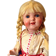German Celluloid Doll 36/40 Schutz Marke