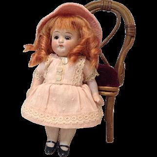 """Kestner 150 All Bisque Doll-5"""" Size"""