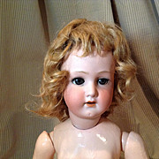 C. 1920/30s Mohair Doll Wig