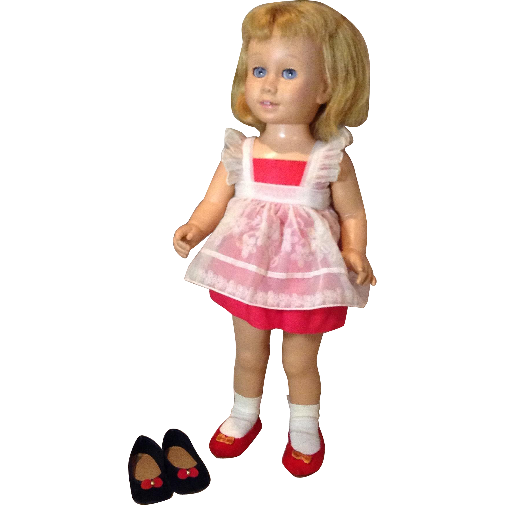 C.1959 Mattel Chatty Cathy Prototype Model and Original Clothes