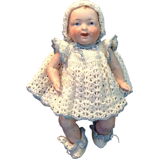 Dear All Bisque Baby Doll in Complete Outfit