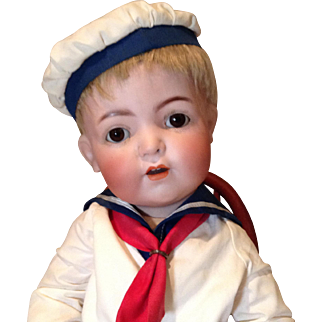 "18"" Franz Schmidt 1295 Character Baby in Sailor Suit"
