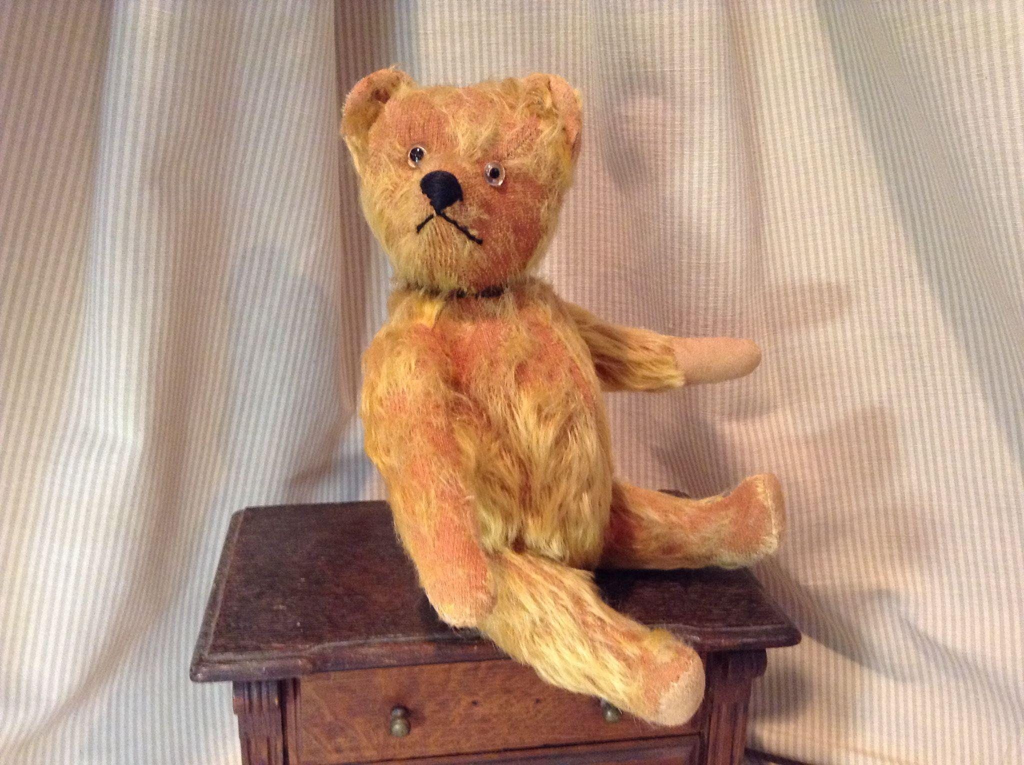 """12"""" Early Loved Schuco Yes/No Bear"""