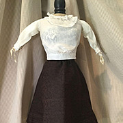 C. 1900 Blouse and Skirt for Lady Doll