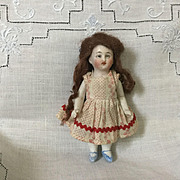 "4"" German Doll House Little Sister"