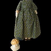 """Early 5"""" China Head Doll Body-Germany"""