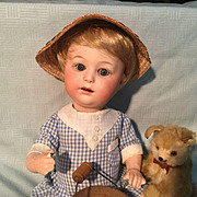 "10"" Rare Heubach Pouty Character Baby"