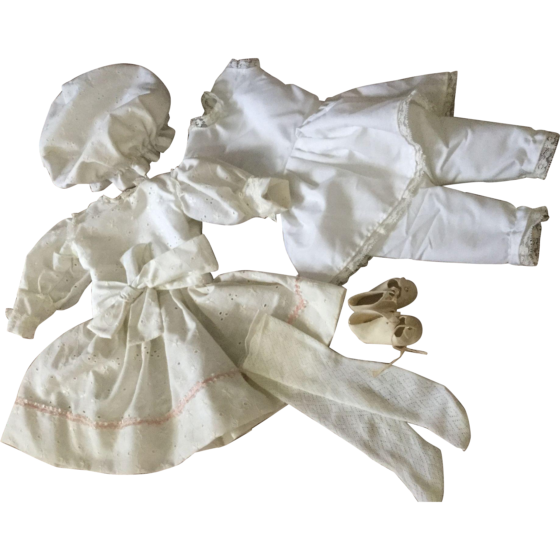 """9 Piece Complete Replacement Outfit for German 21"""" to 23"""" Doll"""