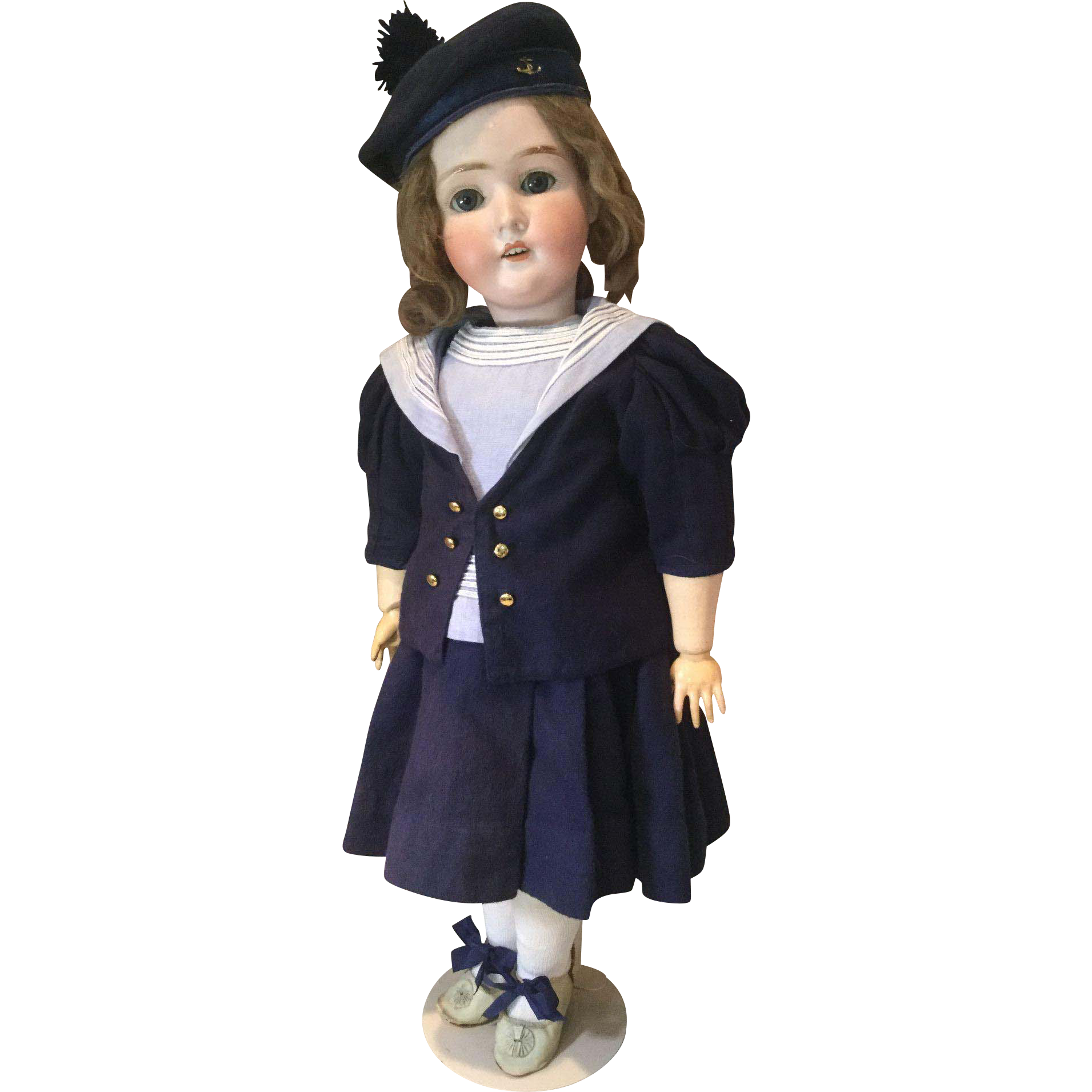 """24"""" Pansy III German Doll in Mariner's Outfit"""