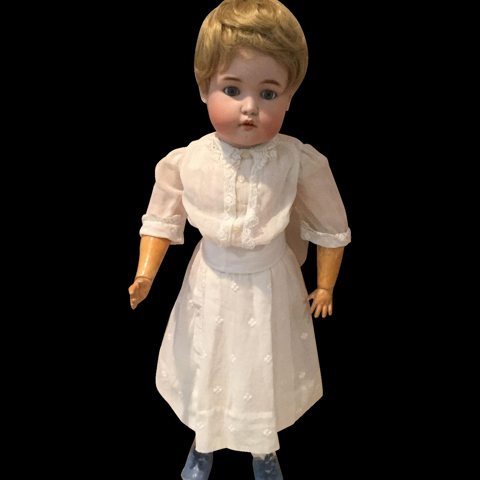 """4 Piece Garden Dress Set for 24"""" German Doll"""