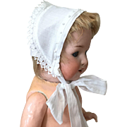 Small Vintage Cotton Bonnet