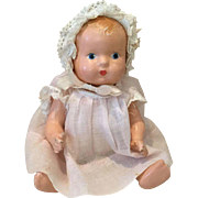 Sweet Effanbee Baby Tinyette in Factory Clothes