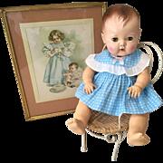 "Crisp Cotton Dress for 15"" Tiny Tears or DyDee Baby"