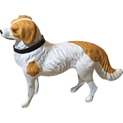 Great Papier Mache' Putz Spaniel For Your French Fashion Doll