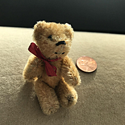 Tiny Schuco Jointed Teddy